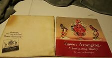 "1940 Coca-Cola Company's ""Flower Arranging Booklet with- Coke Display Ideas Back"