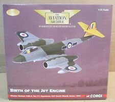 Corgi Gloster Meteor F.Mk.8 No. 111 SQN RAF North Weald Essex Jet Die-Cast 1:72