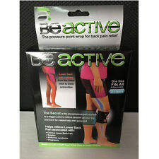 BeActive Brace As Seen on TV Acupressure Relieve Tension Sciatic Nerve Be Activ