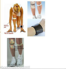 3x Dr Levine's Magnetic Strap strengthens the knees, relieves pain. Wrist Wrap