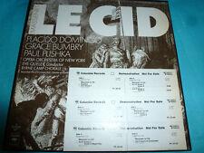 Massenet - Le Cid, Placido Domingo, Bumbry Columbia WLP