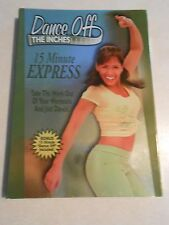 DANCE OFF THE INCHES 15 MINUTE EXPRESS WORKOUT DVD Plus Bonus 10 Min. Dance Off