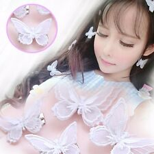 1pcs Lolita Lace Embroidery Butterfly Alligator Hair Clips Hair Pins Accessories