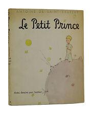 Le Petit Prince ANTOINE DE SAINT-EXUPERY 1st Softcover Edition 1943 Little RARE