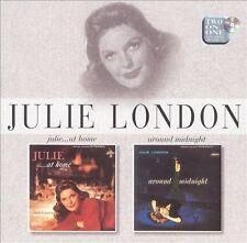 """JULIE LONDON """"JULIE AT HOME"""" & """"AROUND MIDNIGHT"""" 2 lps 1 cd"""