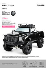 Gmade Komodo GS01 4 Link Suspension 4WD Crawler RC Cars RTR LED Light #GM54016