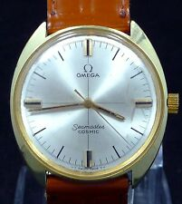 ORIGINAL MEN VINTAGE 1970 OMEGA SEAMASTER COSMIC MANUAL WIND WATCH SERVICE 601