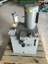 Parker Hydraulic Pump H2B4.5MOPHKO/13 With Baldor 7.5 HP Motor 20 Gallon Tank