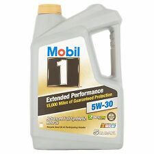 Mobil 1 5W-30  Extended Performance Full Synthetic Motor Oil 5 qt. new