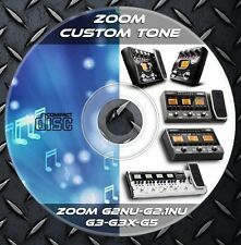 1.708 Patches ZOOM G2Nu-G2.1Nu-G3-G3X-G5. Multi Effects Processor. Custom Tone