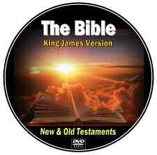 The BIBLE - Complete King James Version Old & New Testaments MP3 Audio DVD