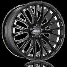 19x8.5 Advanti Racing Fastoso 5X114.3mm +45 Black Wheels Fits Rx8 altima TL Tsx