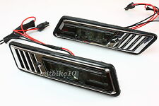 88-96 BMW E34 5-SERIES & 92-96 E36 3-SERIES LED SIDE MARKER LIGHTS CRYSTAL SMOKE
