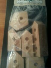 Chunky Wooden Birdhouses set of 6 from Darice for crafting