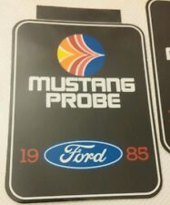 Vintage Ford Mustang Probe decal 1985