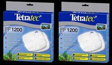 2 x TetraTec External Filter Floss Pad Media EX1200 Tetra 1200 Fish Tank
