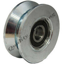 sliding gate wheel pulley wheel 80mm V groove Double bearing steel wheel