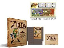 Zelda Outlands Box Set New Sealed NES