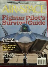 Air & Space Smithsonian Fighter Pilot's Survival Guide July 2014 FREE SHIPPING