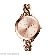 Michael Kors MK3223 Rose Gold Slim Runway Women's Watch