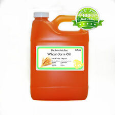 32 OZ WHEAT GERM OIL UNTEFINED ORGANIC COLD PRESSED VIRGIN 100% PURE *