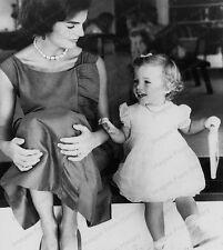8x10 Print Jackie Kennedy Onassis JFK Caroline Hyannis Port 1960 #JAO