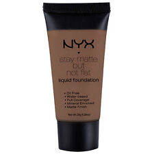 NYX Stay Matte But Not Flat Liquid Foundation 1.18 oz color SMF19 Cocoa New