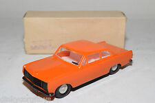 VEB PLASTICART PLASTIC OPEL REKORD ORANGE NEAR MINT BOXED.