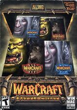 Warcraft Battle Chest Reigh of Chaos & Frozen Throng (PC Windows / Mac CD Rom)