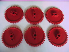 knex red cogs spare set of 6.