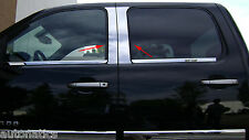 CHEVROLET SILVERADO CREW/EXT 2007-2013 TFP CHROME PILLAR POST OVERLAY COVER SET