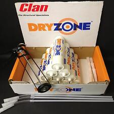 10 DRYZONE DPC DAMP PROOFING CREAM 310ml TUBES WITH SKELETON FRAME GUN