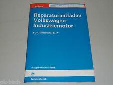 Werkstatthandbuch Reparaturanleitung VW Industriemotor Motor 5 Zyl. Diesel ACP