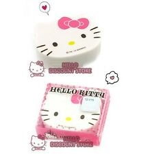 Hello Kitty Face Diecut Eraser : Pink