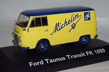 """Ford Taunus Transit FK 1000 """"Michelin"""" gelb 1:43  Schuco neu & OVP 3197"""