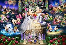 2000 piece jigsaw puzzle Disney Stained Art Disney eternal oath Wedding Dream
