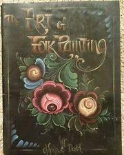ART OF FOLK PAINTING By Jo Sonja & David Decorative Tole Painting Book 1990