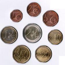 Monaco Kursmünzen 1 Cent bis 2 Euro 2002 prägefrisch in 8er Hülle