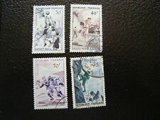 FRANCE - timbre yvert et tellier n° 1072 a 1075 obl (A20) stamp french (A)