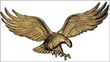 """Whitehall 36"""" Large Wall Eagle Anitque Brass Color Indoor-Outdoor Quick Ship Art"""