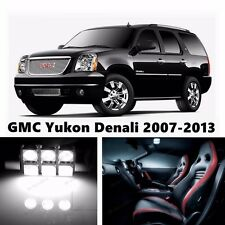 16pcs LED Xenon White Light Interior Package Kit for GMC Yukon Denali 2007-2013
