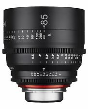 New Rokinon Xeen 85mm T1.5 Cine Professional Full Frame Lens for Nikon XN85-N