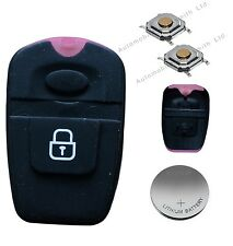 DIY repair kit set for Hyundai Santa Fe 2 button remote alarm key fob