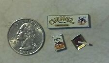 Dollhouse Miniature Cigarettes Pack & Carton  1:12 scale 1 inch scale    ca H64