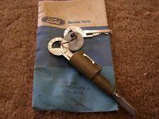 NOS OEM Ford 1962 Galaxie 500 Truck Lock Cylinder + Keys