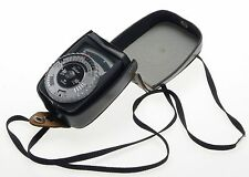 GOSSEN SIXTAR LIGHT EXPOSURE METER VINTAGE CASED STRAP WORKING CLEAN RARE GREY