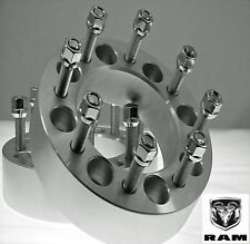 "2 Pc Dodge 2012-2017 Ram 2500 3500 Dually 1.50"" Wheel Spacers Adapters 8650C1415"