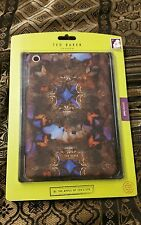 NWT $55 Ted Baker Tablet iPad 3 or iPad 4 Case New Brown Violet
