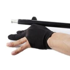Professional 3 Finger Nylon Billiard Gloves Pool Cue Shooters Gloves Hotsell