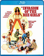 INVASION OF THE BEE GIRLS (William Smith) - BLU RAY - Region A